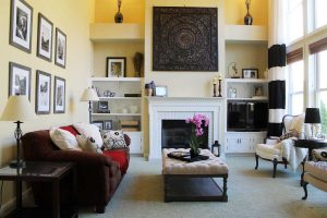 family after home staging