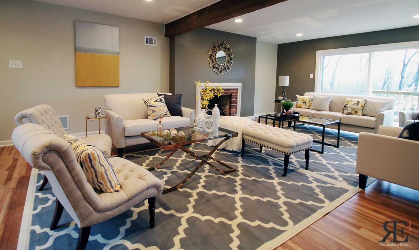Home staging tips and tricks interior design ideas paint for Staging small living room