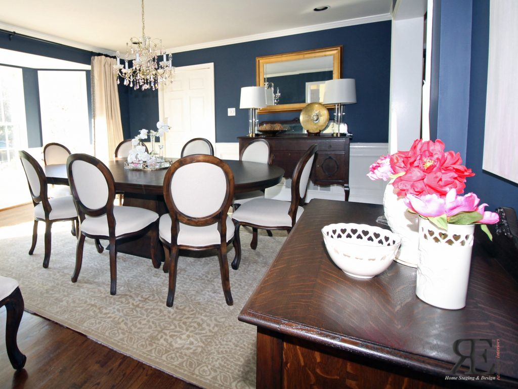 Interior Design Project Malvern PA - dining room