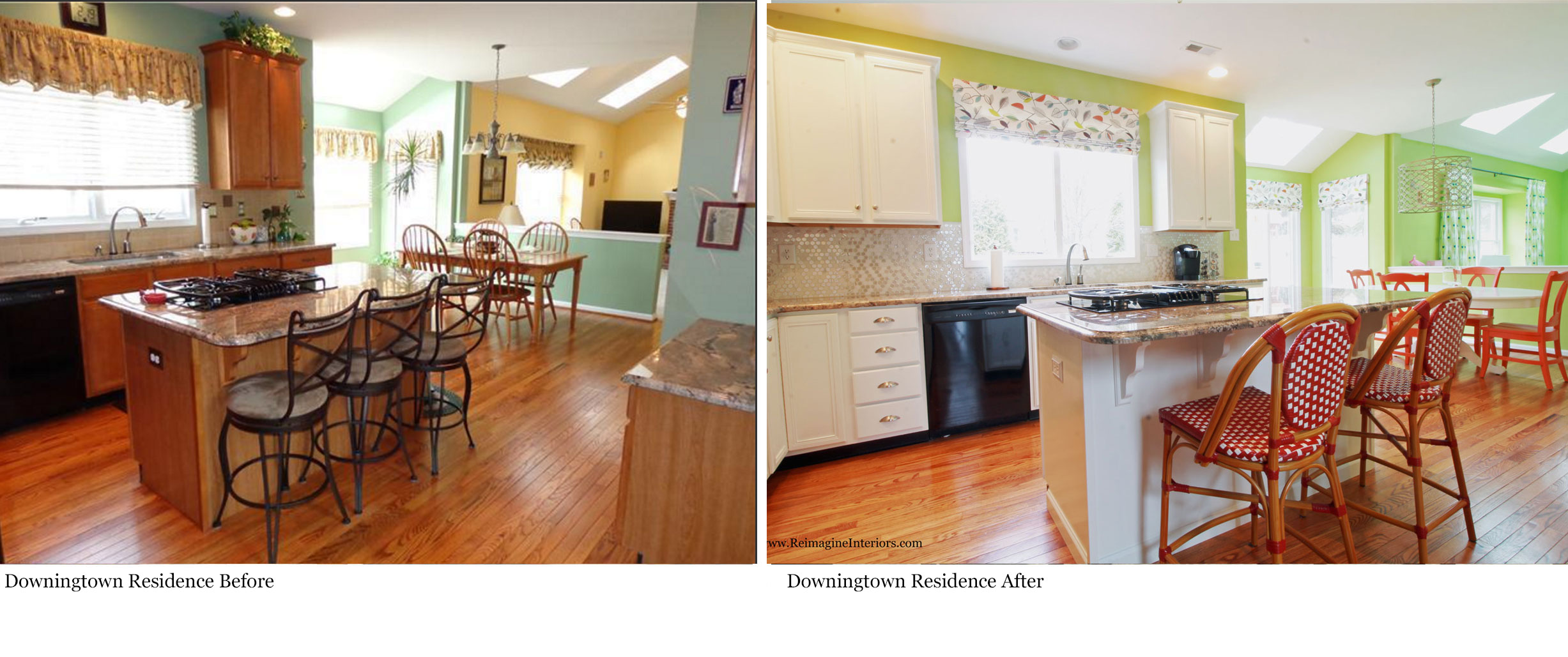 Philadelphia suburbs and main line design projects before Before and after interior design projects