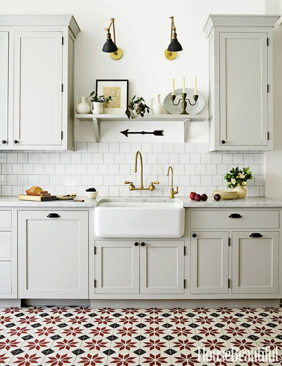 Kitchen design - mixed metals