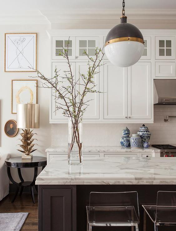 Kitchen Design - mixed metals