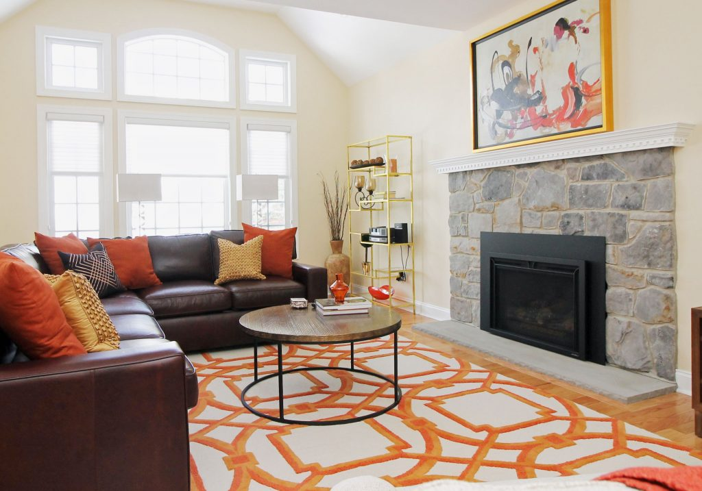 family room Design West Chester PA