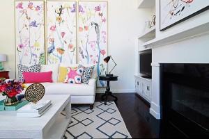 interior designer main line philadelphia PA - family room design