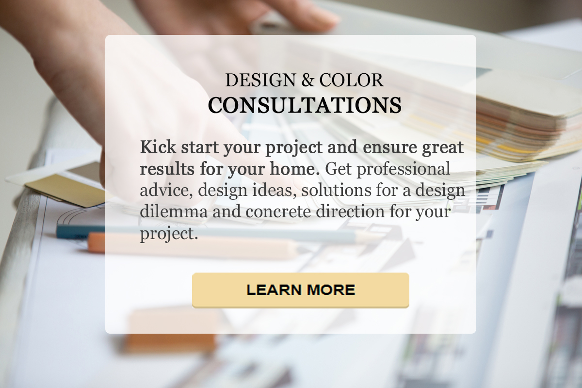 interior design and color consultation
