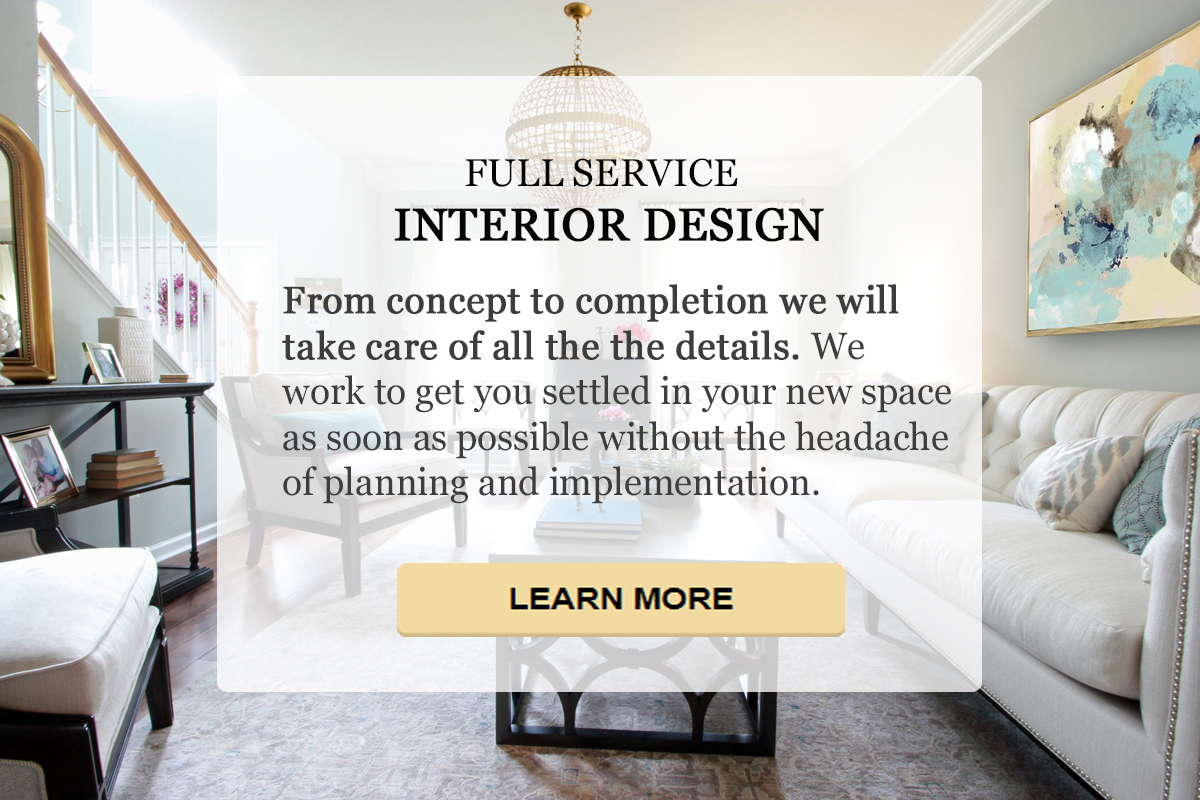 full service interior design