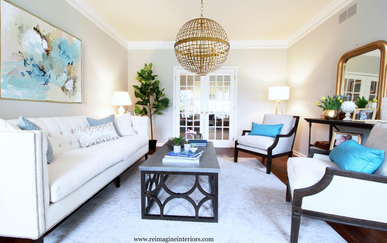 living room design in philadelphia pa